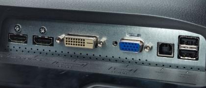 BenQ EW2420 ports