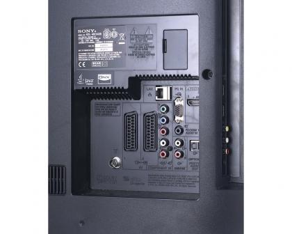 Sony Bravia KDL-40EX43B ports