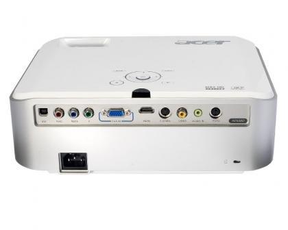 Acer H7530D rear