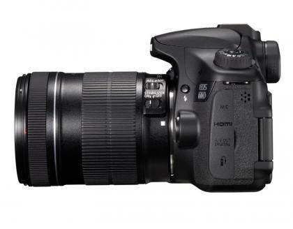 Canon EOS 60D left
