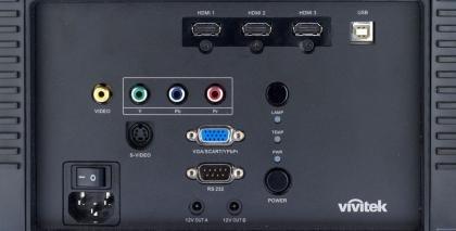 Vivitek H5080 ports