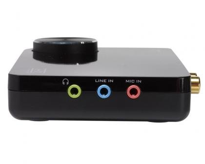 Sound blaster x-fi surround 5. 1 pro usb sound card creative labs.