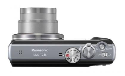 Panasonic Lumix DMC-TZ18 top