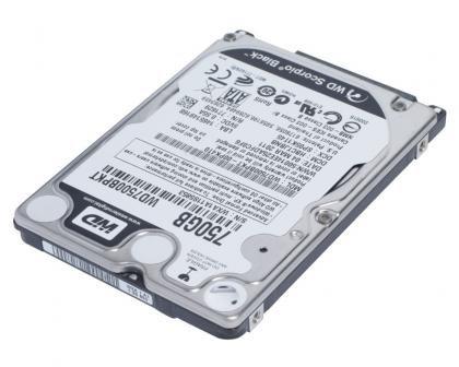 Western Digital Scorpio Black 750GB