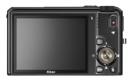 Nikon Coolpix S9100 back