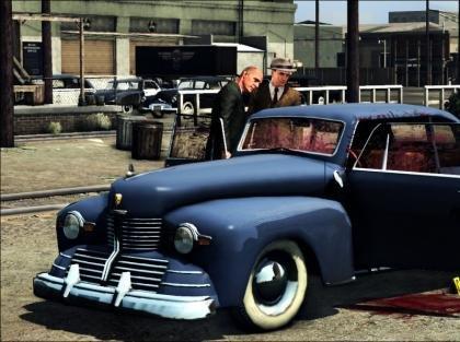 L.A. Noire crime scene