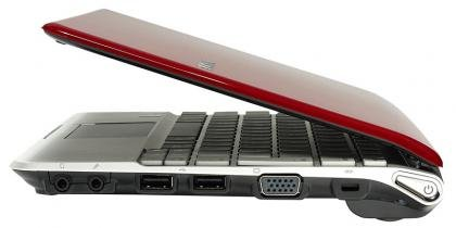 Samsung NC110 right ports