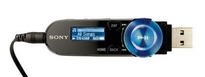 Sony Walkman NWZ-B162 front