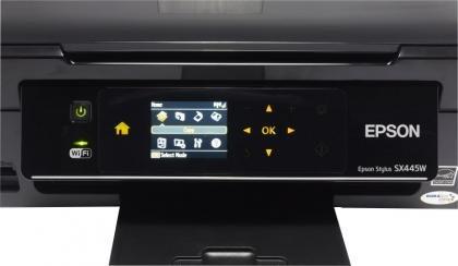 Epson Stylus SX445W controls