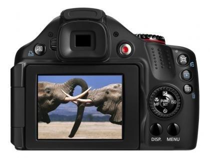 Canon PowerShot SX40 HS back