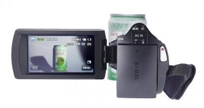Samsung HMX-H300BP back