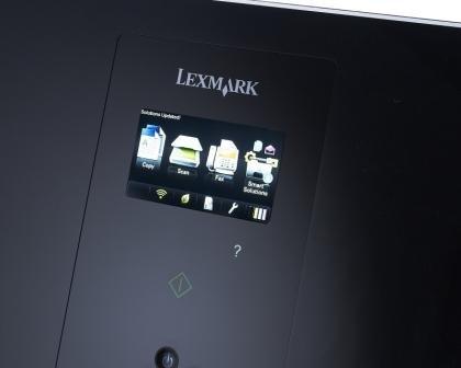 Lexmark Genesis S815 display