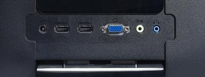 Viewsonic VX2753MH-LED ports