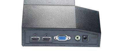 Acer S243HL rear ports
