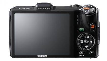 Fujifilm FinePix F600EXR back