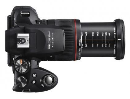 Fujifilm FinePix HS20EXR zoom