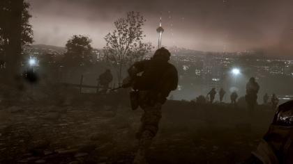 Battlefield 3 Iran at night