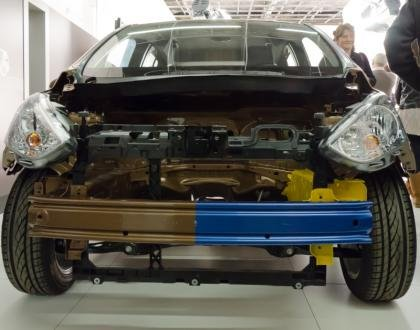 Ford B-Max front boron steel