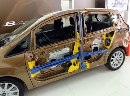 Ford B-Max side impact