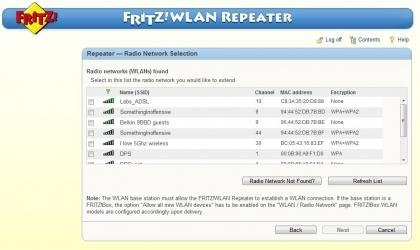 Fritz!WLAN interface