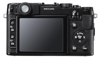 Fujifilm X10 back