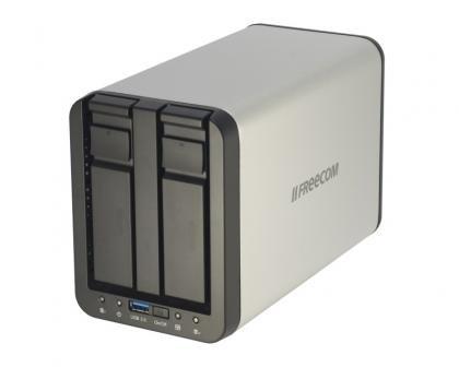Freecom Silverstore 2-Drive NAS 2TB