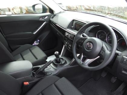 Mazda CX-5 Front Cabin
