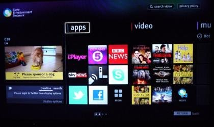 Sony Bravia KDL-46HX853 internet TV