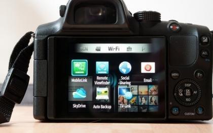 Samsung NX20 menu