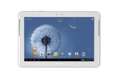 Samsung Galaxy Tab 2 10.1 front