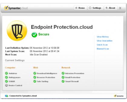 Symantec Desktop Client