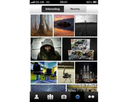 Flickr iPhone app