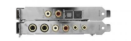 Creative Sound Blaster ZxR ports