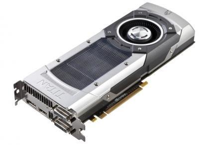 Nvidia GTX Titan 3/4 Shot