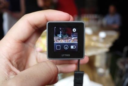 Lytro light field camera