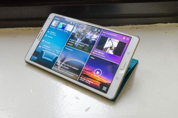 Samsung Galaxy Tab S 8.4 in stand
