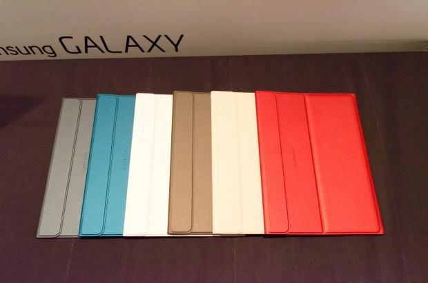 Samsung Galaxy Tab S book case colours