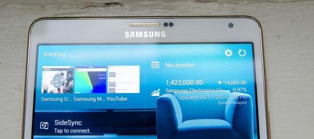 Samsung Galaxy Tab S front camera