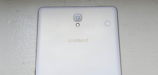 Samsung Galaxy Tab S rear camera and clicker