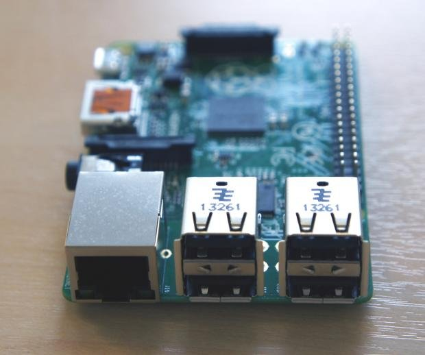 Raspberry Pi B+ USB ports