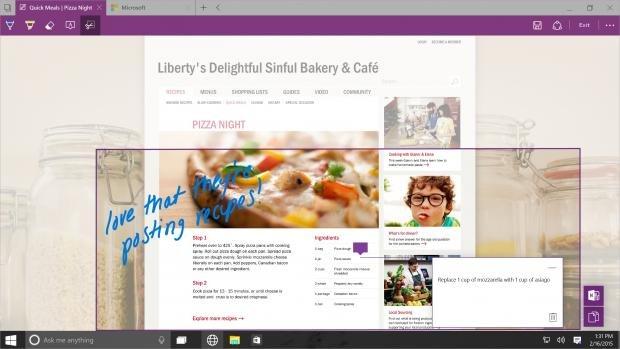 Windows 10 Spartan web browser