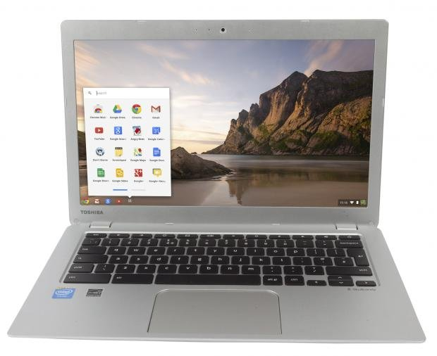 Toshiba Chromebook 2 display