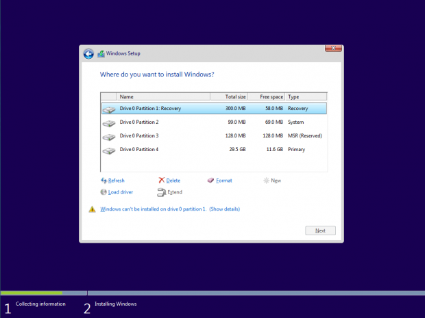 Installing win 10 on a new hard drive solved windows 10 for Installing new windows