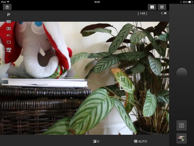 Canon 750D ipad remote