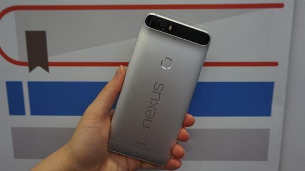 Nexus 6P hands on rear