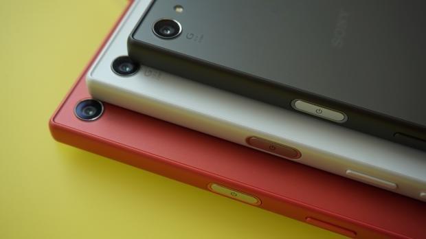 Sony Xperia Z5 Compact hands on fingerprint sensor