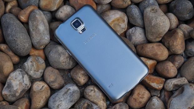 Samsung Galaxy S5 Neo back