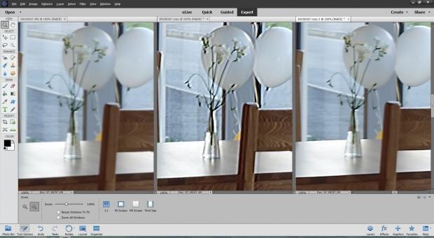 Photoshop Elements 14 shake unsharp