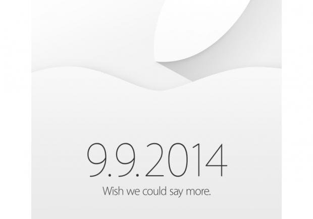 Apple iPhone 6 event invitation