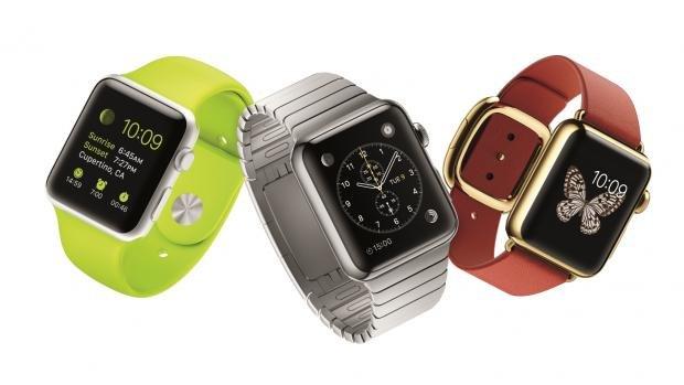 Apple Watch group shot